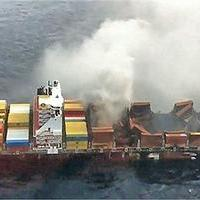 Fire-Damaged MSC Flaminia