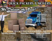 12Packers And Movers Islamabad Lahore Karachi